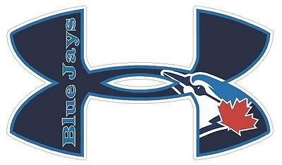 Toronto BlueJays  Baseball Under Armour Truck//Window Decal Sticker Set of 3