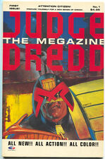 Judge Dredd The Megazine 1 Fleetway Quality 1991 NM