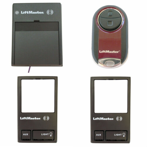 LiftMaster One 365LM Reciver One 374UT Remote Two 378LM Wireless Wall Control