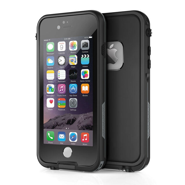on sale 4a53c 3967d For Apple iPhone 6s 6 Plus Waterproof Case Cover w/ Built-in Screen  Protector