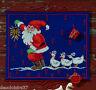 Permin | Kit Broderie | Point de Croix compté - Calendrier de l'Avent Père Noel