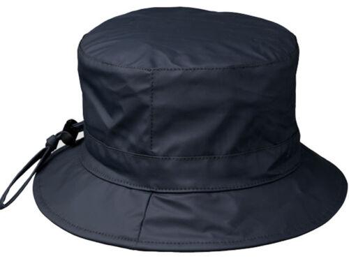 Damen REGENHUT Regenhüte Regen Mütze Zugband  Wasserdicht Winddicht Tunnelzug