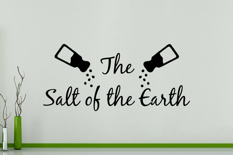 The Salt of Earth - Cocina Pimienta Adhesivo de parojo decorativo imagen Póster
