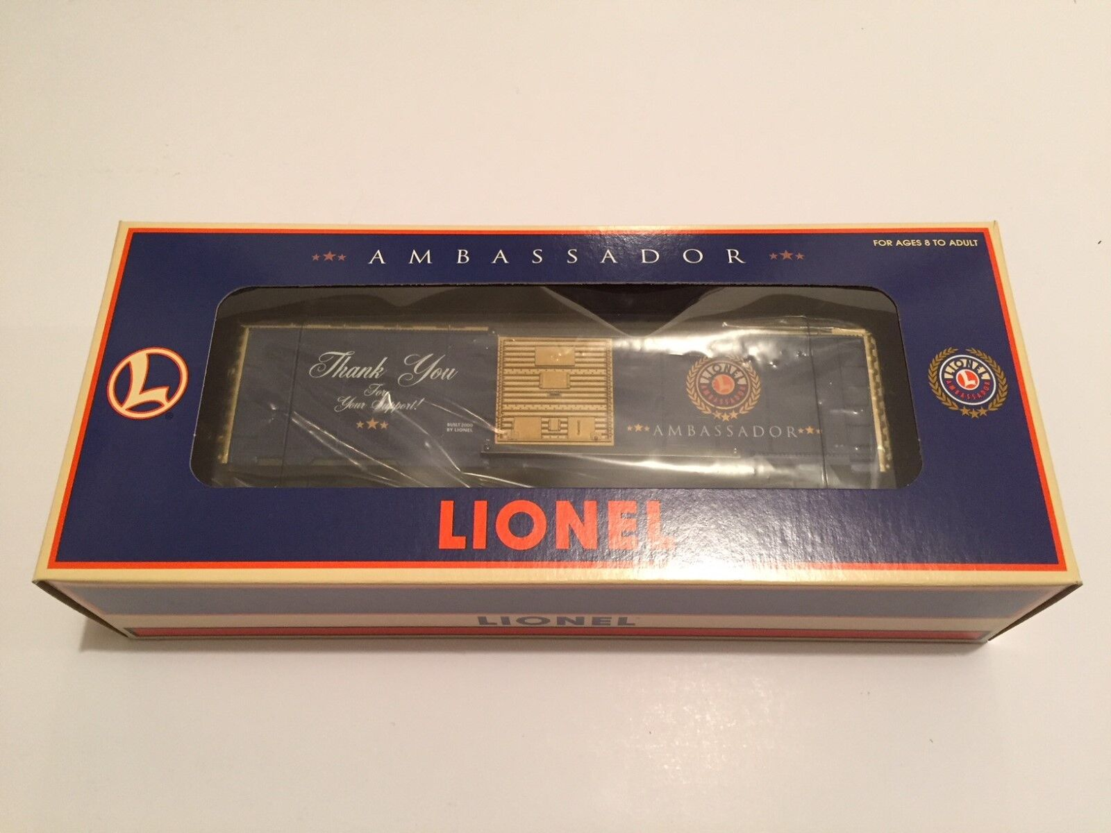 Lionel   16820 Ambassador  Thank You  Box Car