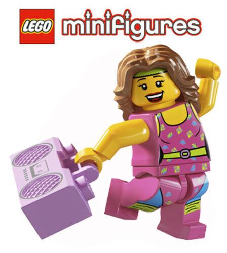 LEGO ® minifiguren 8805 série 5 Fitness träinerin