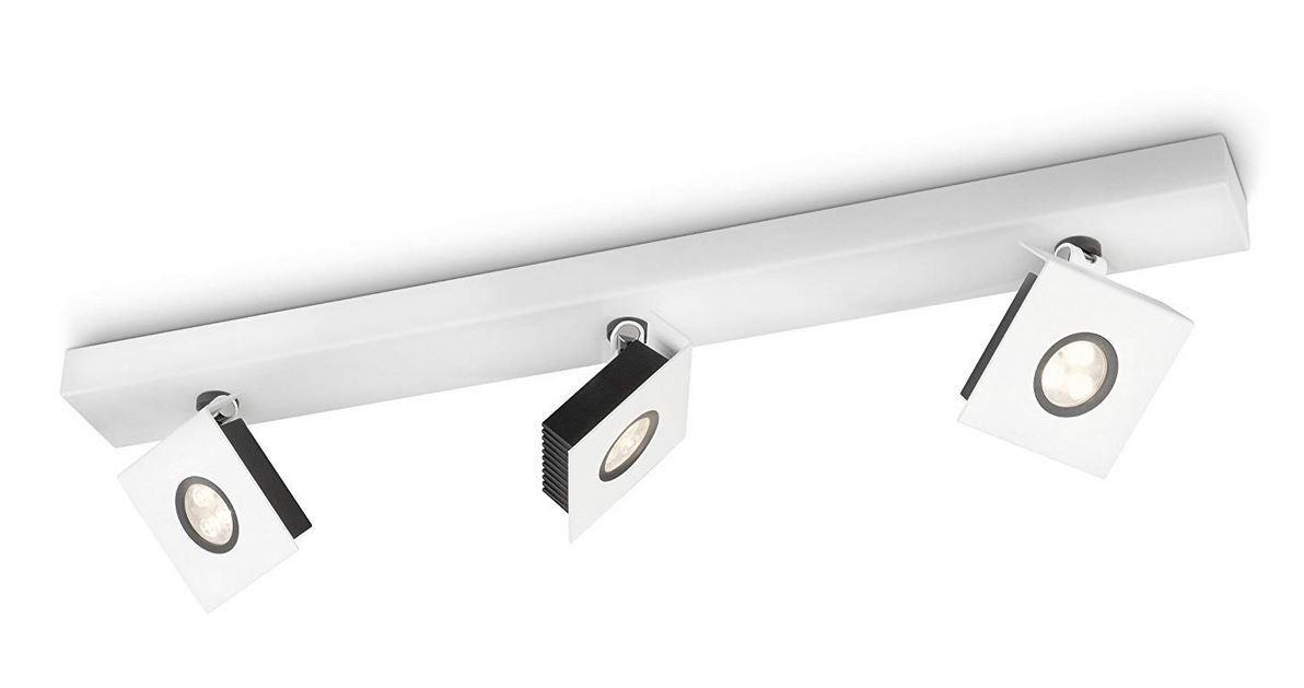 Philips Ledino Indoor 3er LED-Spotbalken ,Dimmbar weiß