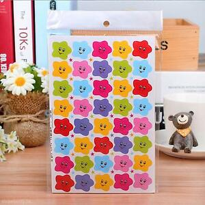 Cute-400pcs-Smile-Stars-Decal-School-Children-Kids-Teacher-Label-Reward-Sticker