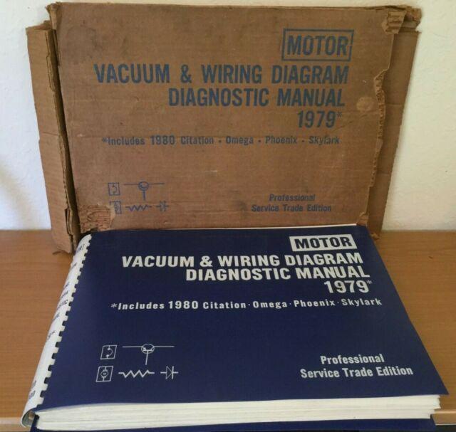 Motor Vacuum Wiring Diagram Diagnostic Manual 1979