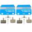 2x Shimano MTB Disc Brake Pads B01S Resin BR-M525 M495 M475 M465 M416 M446 M415