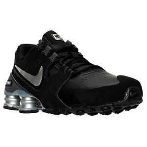 Nike Shox Para Hombre De Cuero Negro