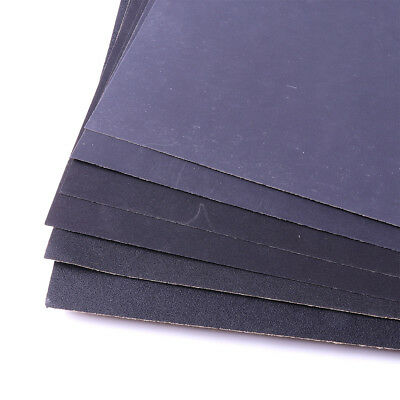 US Sandpaper Wet or Dry 10 sheets 9/'/' x 11/'/' COMBO 280//400//1000//1500//2000 Grit