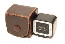 Voigtlander KONTUR Finder 24x36mm / 35mm, c/w Leather Case