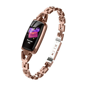 SmartWatch Armband mit Pulsmesser Messgerät Schrittzähler Schlafmonitor
