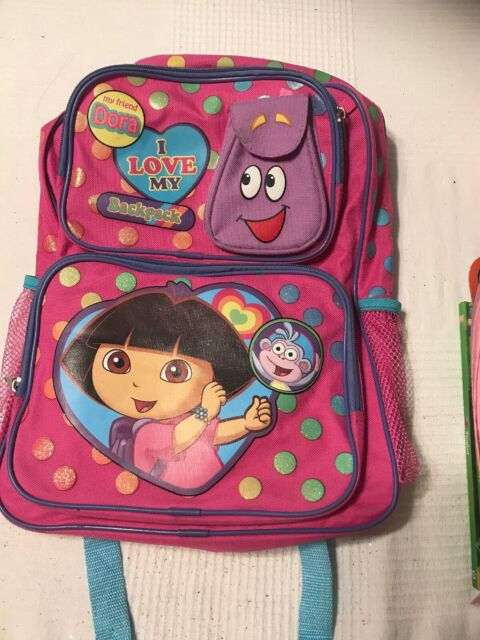 "BRAND NEW Dora the Explorer 12/"" inches Backpack"