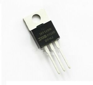 50Pcs IRF520 IRF520N TO-220 N-Channel IR Power MOSFET new