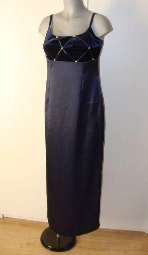 Shimmering Iv30 Satin Velvet 42 Shine Estimée Blue Robe Stretch Taille 4vZxR
