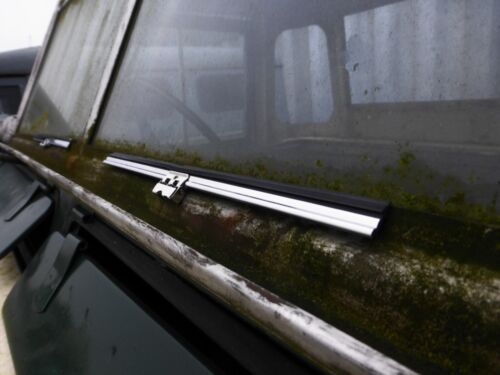 Landrover Series 2 3 Stainless Steel Windscreen Wiper Blade RTC3460 Spoon Fit x2