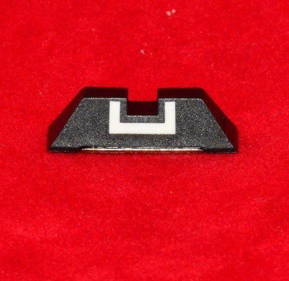 Glock OEM Rear Fixed Sight 6.5mm Fits Mod. 17,19,22,23,26,27,33,34,35,37.