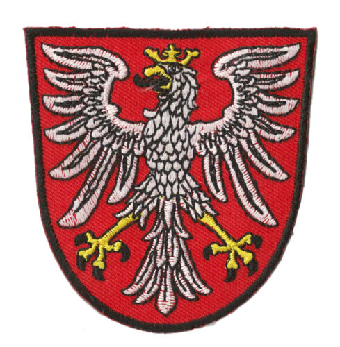 Patch Coat of Arms Patched Coat of Arms Poland Polska Thermoadhesive Patch