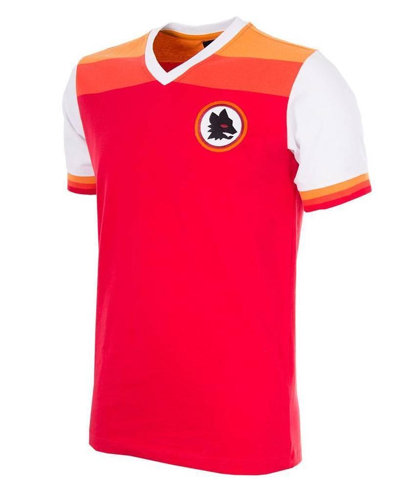 Copa AS Rom Retro Trikot 1978 1979 Ausweich NEU 78546