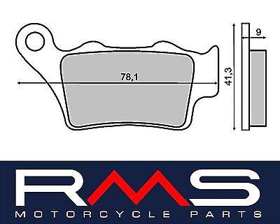 Der GüNstigste Preis Bremsbeläge Hinten Husqvarna Cr 125 2004 Rms 225101330 Bremsbeläge Motorradteile