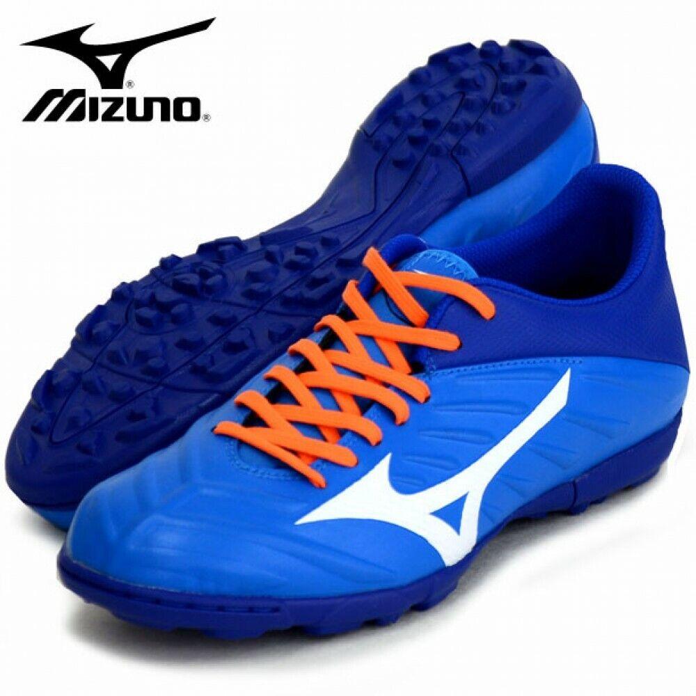 Mizuno Rebula 2 V3 como fútbol zapatos de césped P1GD1975 Azul blancoo De Seguimiento