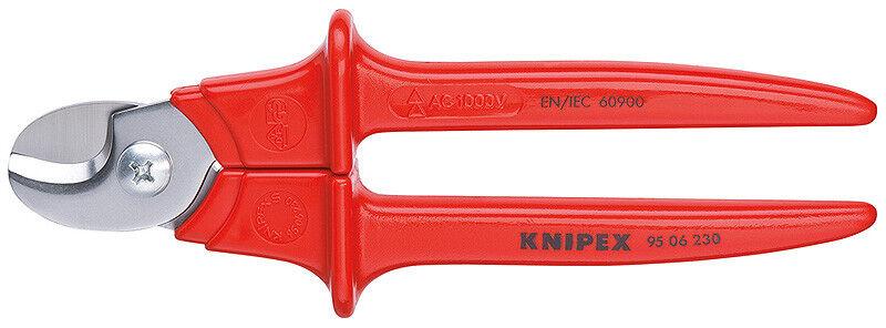 Knipex 9506230 Cable Cisaille Plastique Isolé VDE-Testé 9 1 4 dans