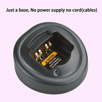 Only Base No Power Supply For Motorola Gp360 Walkie Talkie Battery Charger