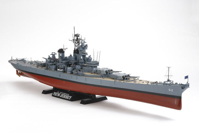 Tamiya 1 350 U.S. Battleship BB-62 New Jersey