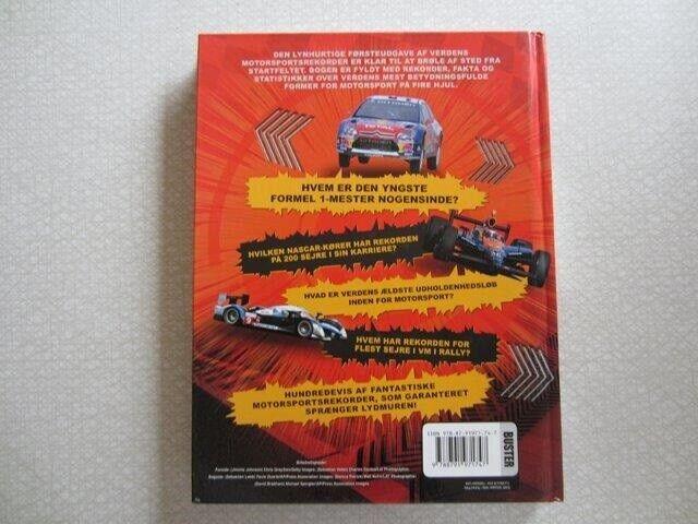 Verdens Motorsport Rekorder 2012, Bruce Jones, emne: bil