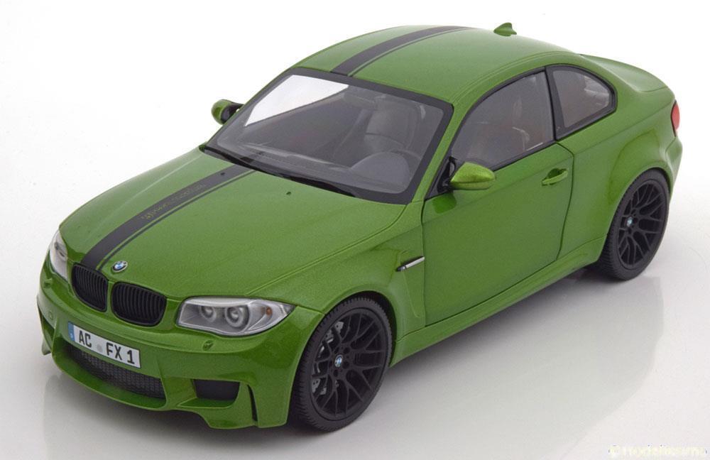 BMW 1ER M COUPE 2011 E82 vert MINICHAMPS 110020024 1 18 GRUN vert VERTE