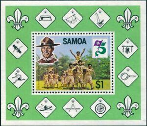 Samoa-1982-SG624-Scouts-MS-MNH