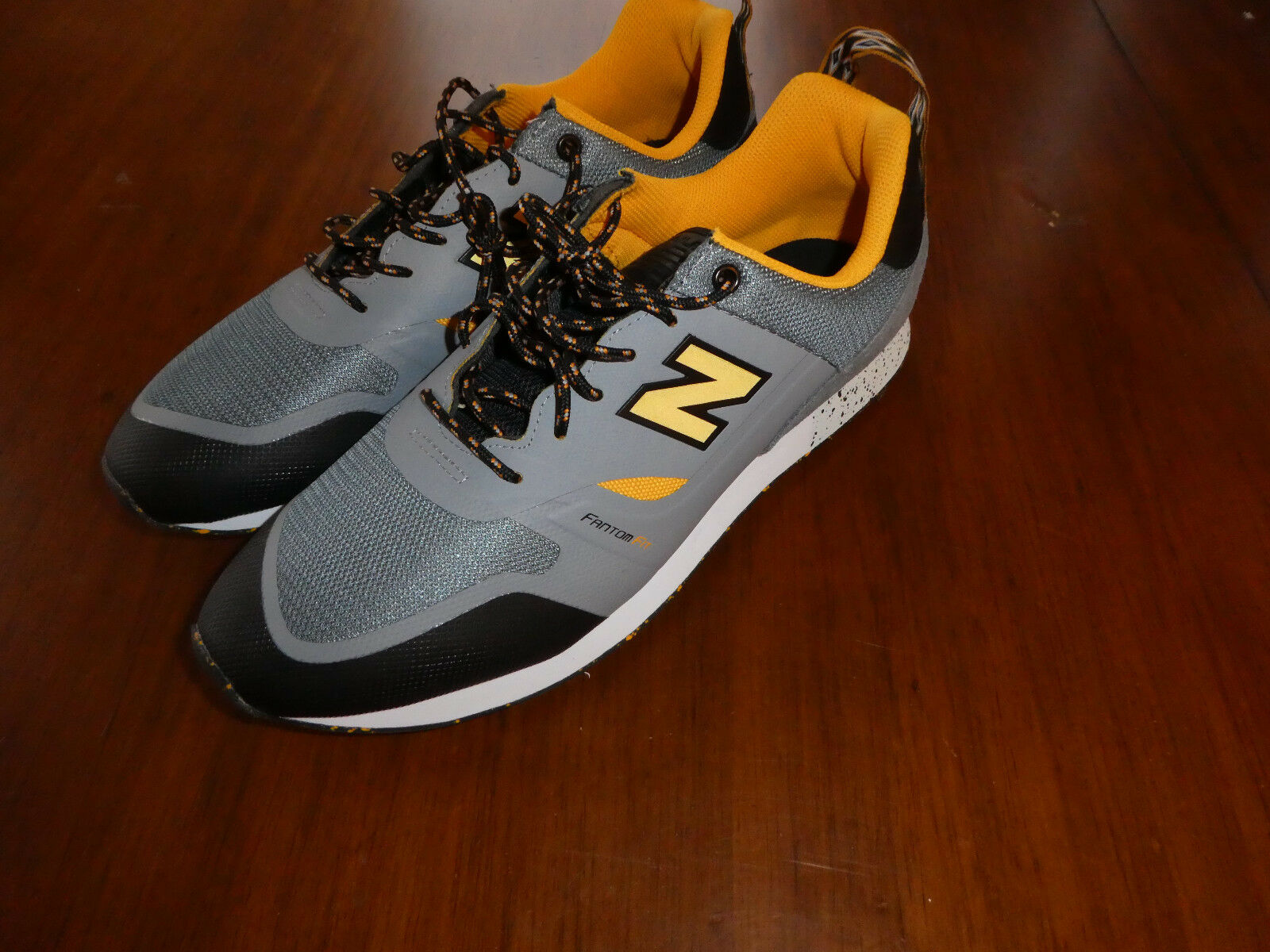 Homme New Balance Trailbuster trail buster  chaussures  Taille 12 TBTFAAC Gris Jaune