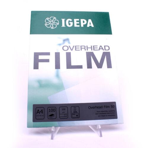 Kopierfolien Overheadfolien OHP Folie für Inkjet Laser und Folienstifte geeignet