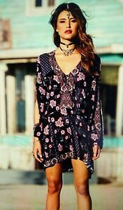 Anna Sui For O Neill Dotti Dress Sz