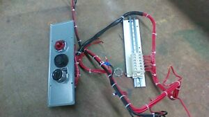 square d size 3 mcc bucket wiring harness w hoa and indicator light rh ebay com Ford Wiring Harness Kits Truck Wiring Harness