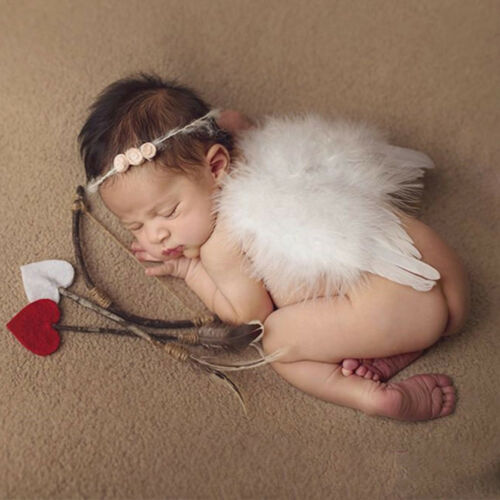 Angel White Feather Wing Christmas Decoration Xmas Tree Hang for Wedding Holiday