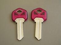 Kwikset Kw1 Key Blanks(2) Violet By Ilco