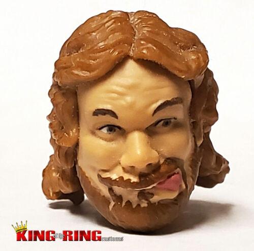 WWE HACKSAW JIM DUGGAN Wrestling Figure HEAD Mattel Elite Custom Fodder WCW