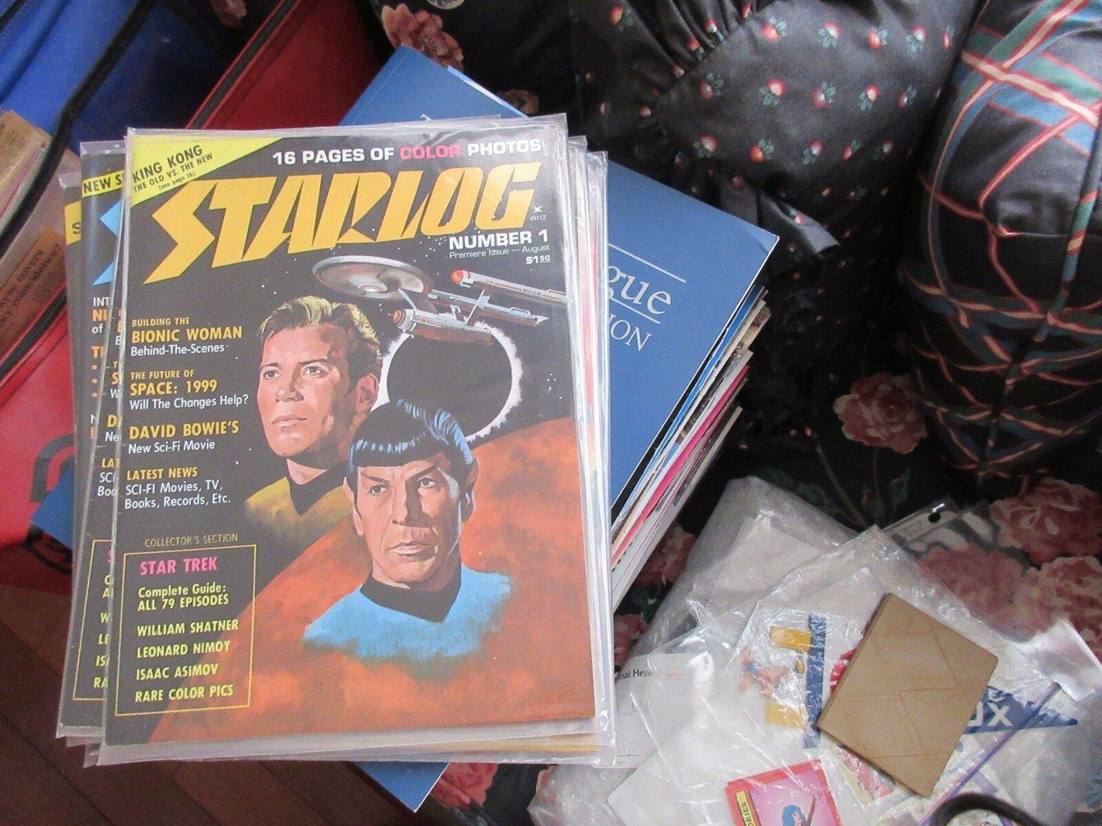 STARLOG , #1 , New/Old Inventory , King Kong , Bionic W