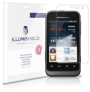 iLLumiShield-Anti-Bubble-Print-Screen-Protector-3x-for-Motorola-Defy-Mini-XT