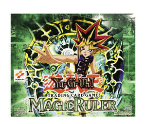 YuGiOh MAGIC RULER MRL 1st Edition RARE Never Been Played