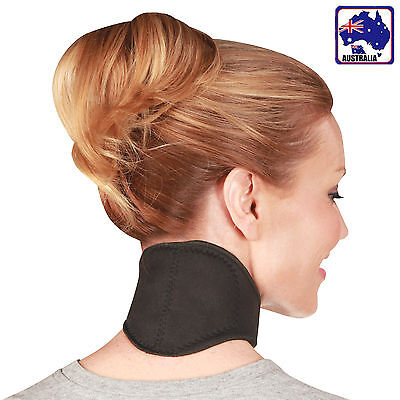 Tourmaline Bio Magnetic Self-Heating Neck Brace Belt Wrap Support ONECK0101
