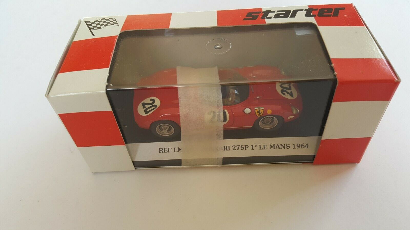Motor De Arranque-Ferrari 275P 1 Le Mans 1 43  20   1964 LM 011-en Caja-Como Nuevo