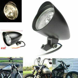 "Motorcycle Bullet 4.5"" Headlight For Yamaha Virago Xv 250 535 750 1100 Road Star"