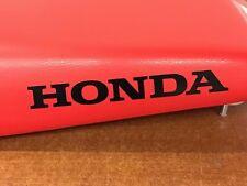 2002 Honda Red Seat Assy TRX250EX 250EX Sportrax 77100-HN6-670ZA OEM ATV