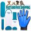 Fur-Pet-Hair-amp-Lint-Remover-Brush-amp-Grooming-Glove-Mitt-Deshedder-Hair-Removal thumbnail 1