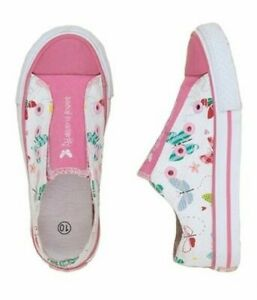Hatley Toddler Youth Canvas Shoes Flying Butterfly Ebay