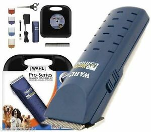 Wahl-Pro-Series-Cord-Cordless-Animal-Hair-Grooming-Clipper-Pet-Dog-WA9590-2012