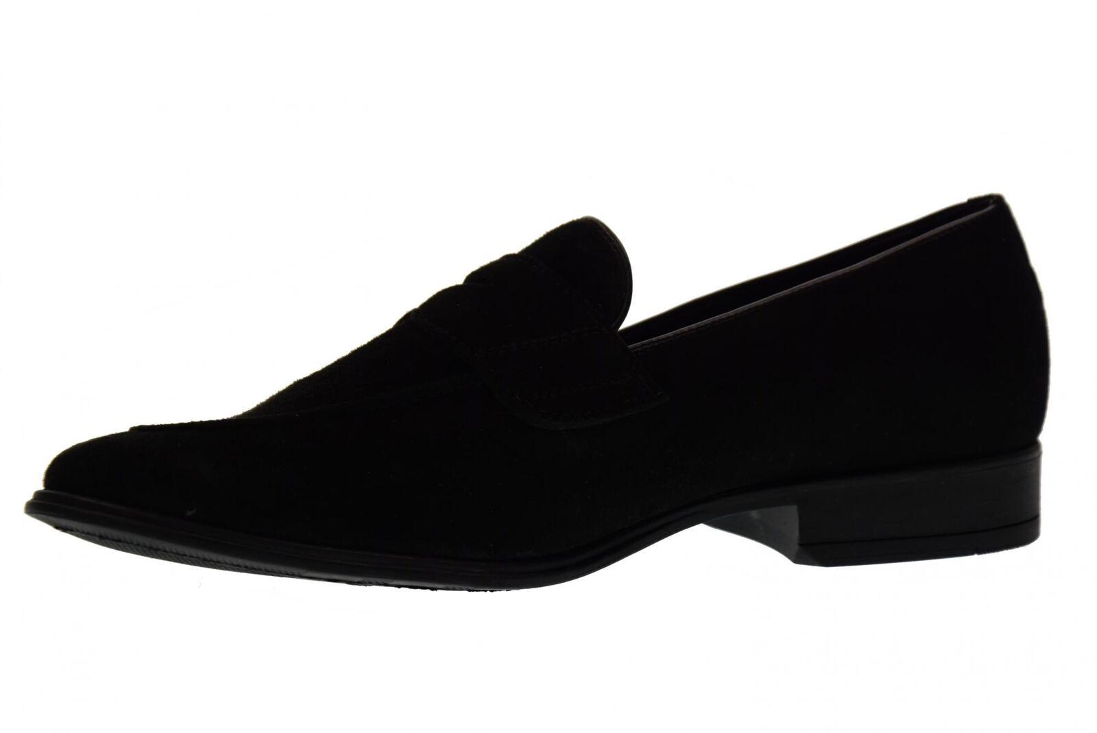 Antica Cuoieria Mannmüßiggänger Schuhe 19763-A-S67 P18g AMALFI BLACK P18g 19763-A-S67 666715